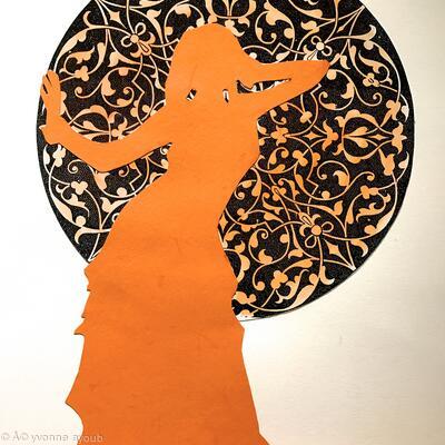 Dancer in orange