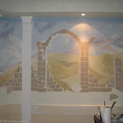 mural 02 - blocking in 002