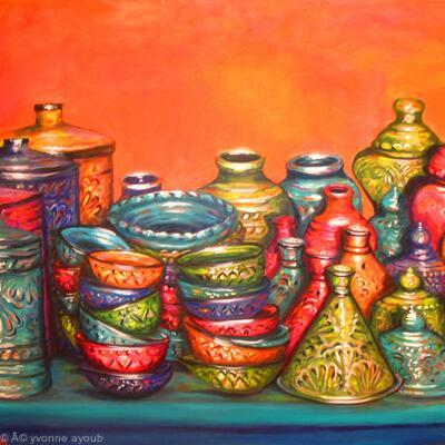 Moroccan Pots