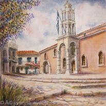 Church Treis Hierarches (Three Bishops)Skiathos, Greece