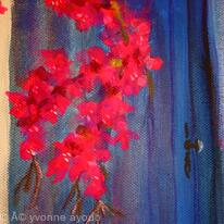 Bougainvillea and Blue Door
