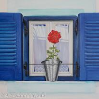 Byrons Blue Shutters