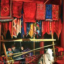 Moroccan Rug Weavers