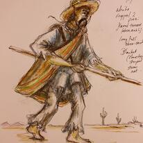 Il Trovatore costume design 02