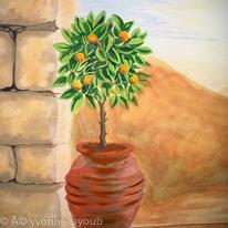 Orange Tree - finishing touches