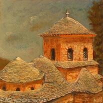 Evangelistra Monastery, Skiathos, Greece