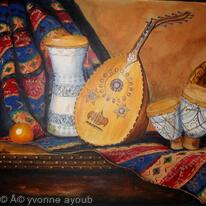 Still Life with Arabian Oud