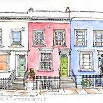 Nottinghill Cottages, London