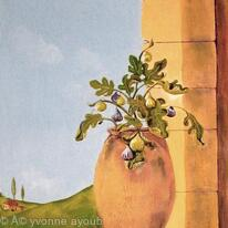 Fig Jar - finishing touches