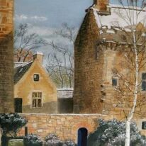 Dean Castle in Snow