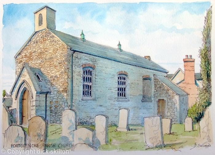 Portglenone Parish Church, greeting card