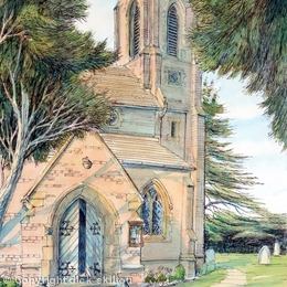 Cookley Church st Peters Worcestershire