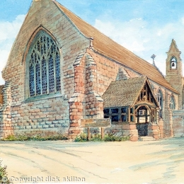 St Saviours Church Hagley Worcestershire