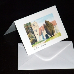 Example of greeting card