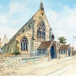 Shrewsbury R.C. Cathedral Shrewsbury greeting card