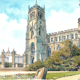 Kidderminster St. Mary's and All Saints greeting card