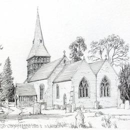 Bromesberrow church - st mary's