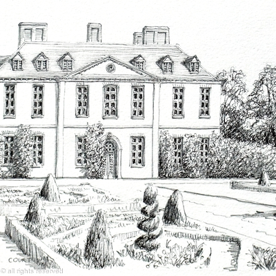 Squerryes court kent greeting or thankyou card