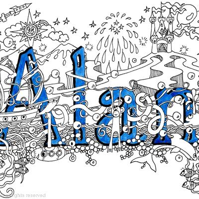 Allan name card 6