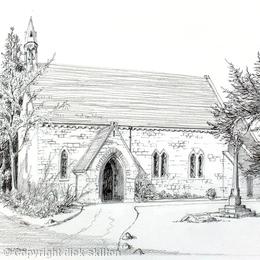 St Nicholas Oldbury greeting card