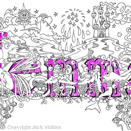 Jemma name art scan so you can print yourself