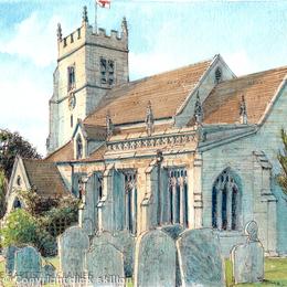Claines Church St. John The Baptistnear Worcester