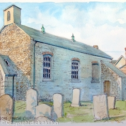 Portglenone Parish Church, greeting card