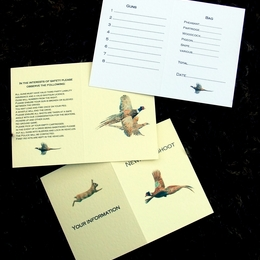 Some examples of bespoke shoot cards