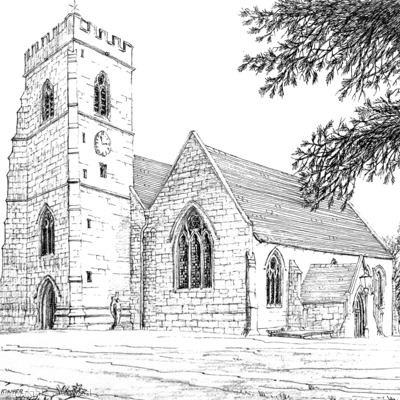 Kinver Church St Peter's Staffordshire