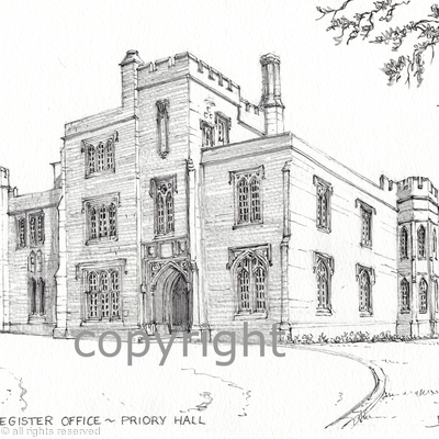 Dudley Priory Register office or registry office