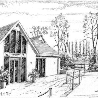 The Granery wedding venue Stone near kidderminster as a greeting card