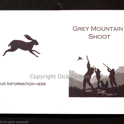 Grey Mountain shoot card example