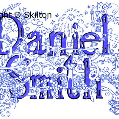Examlle of the knight design in blue sold as a jpeg for you to copy as you wish