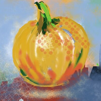 Pumpkin by Ros Rees