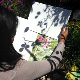 Painting at The Garden House Brighton