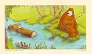 Fishing In The River (from Gruff The Grump) signed and mounted