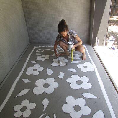 Carpet painting