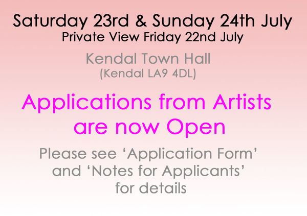 ArtFest North Applications from Artists are open