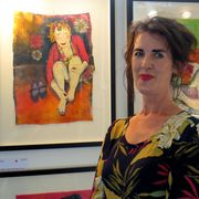 Visitors' Choice Winner Angie Flynn
