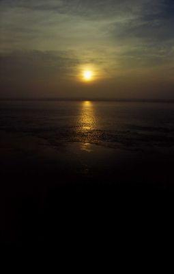 sunrise of Ganga