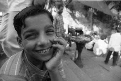 a vendor boy