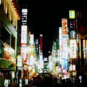 新宿ネオン街