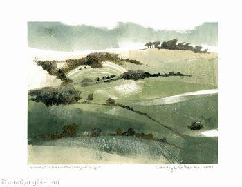 Winter, Chanctonbury Ring