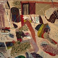 'Beach Camp (reading Ovid)' 2008/9