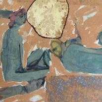 'Greek Lounger' (detail)