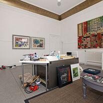 stracathro studio/gallery with 'the joy of text' (duns scotus) 2010