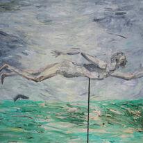 'Weather Vane Man' 1991