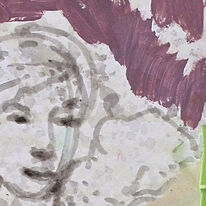 balcony aye (study) detail, 2014
