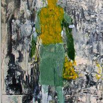 Painting Rocks of Solitude, Edzell (detail)
