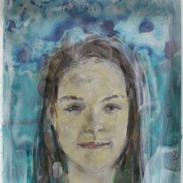 portrait head: Mirin